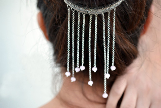 diy hair jewelry make a decorative hair accessory nbeads