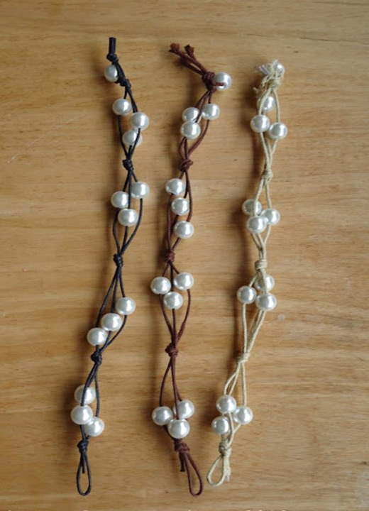Easy Homemade Bracelets Make Bracelet With Cord And