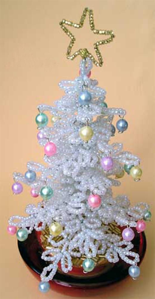 beaded christmas tree - How To Make A Christmas