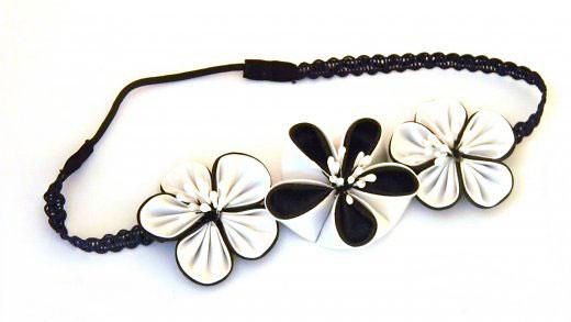 Making Flower Headbands Flowered Headbands