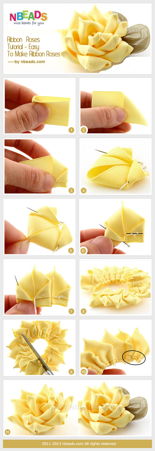 How To Make Bow Clips At Home