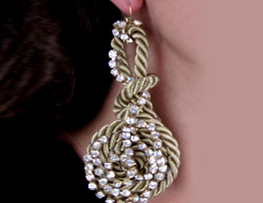 unique handmade earrings - Earring Design Ideas