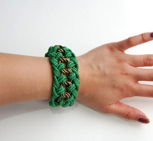 How To Make A Decorative Rope Bracelet