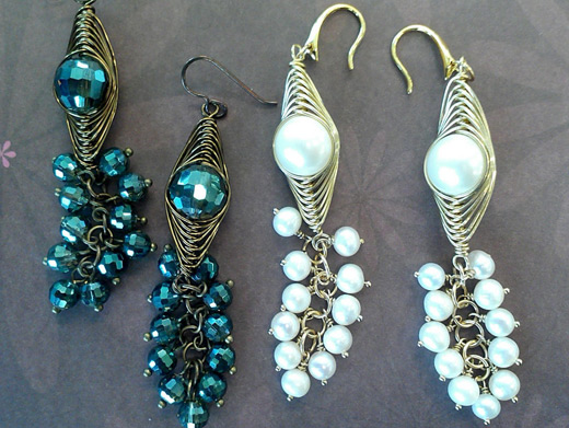 Learn to make jewelry diy beaded earrings nbeads for Learn to draw jewelry