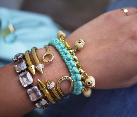 Make Your Own Charm Bracelets: Make Your Own Charm Bracelet With Skull Beads