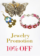 Jewelry Promotion 10% OFF