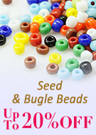 Seed & Bugle Beads Up to 20% OFF