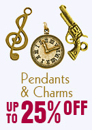 Pendants & Charms  Up TO 25% OFF