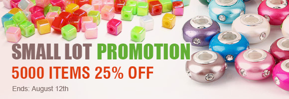 Small Lot Promotion! 1-Week Only!5000 Items 25% OFF!