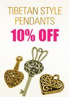 Tibetan Style Pendants 10% OFF