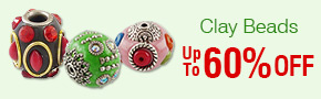 Clay Beads Up To 60% OFF