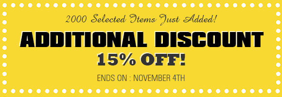 Additional Discount!