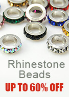 Rhinestone Beads  Up To 60% OFF