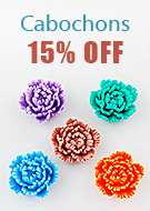 Cabochons 15% OFF