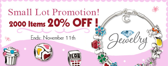 Small Lot Promotion!  2000 Items 20% OFF!