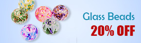Glass Beads 20% OFF