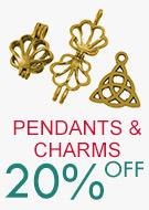 Pendants & Charms 20% OFF