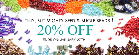 Tiny, but Mighty Seed & Bugle Beads!