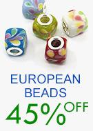 European Beads 45% OFF