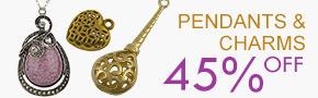 Pendants & Charms 45% OFF