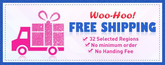 Woo-Hoo! Free Shipping!