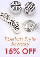Tibetan Style Jewelry 15% OFF