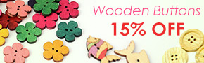 Wooden Buttons 15% OFF