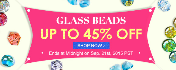 Glass Beads Up To 45% OFF