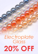 Electroplate Glass 20% OFF