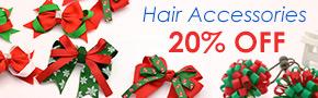 Hair Accessories 20% OFF