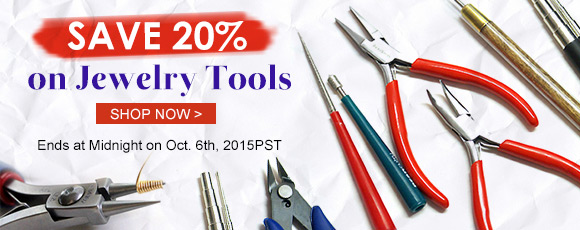 Save 20% on Jewelry Tools