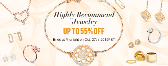 Highly Recommend Jewelry Up To 55% OFF