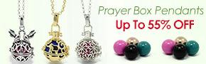 Prayer Box Pendants Up To 55% OFF
