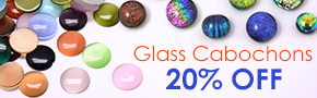 Glass Cabochons 20% OFF