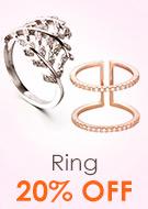 Ring 20% OFF