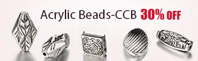 Acrylic Beads-CCB 30% OFF