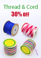 Thread & Cord 30% OFF