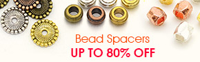 Bead Spacers Up To 80% OFF