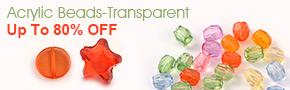 Acrylic Beads-Transparent Up To 80% OFF