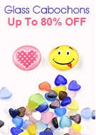 Glass Cabochons Up To 80% OFF