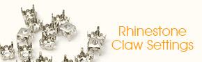 Rhinestone Claw Settings