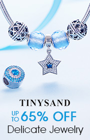 TINYSAND Delicate Jewelry UP TO 65% OFF