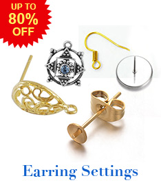 Earring Settings  Up To 80% OFF