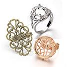 指輪のパーツ