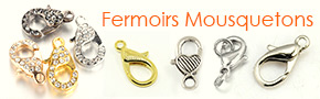 Fermoirs Mousquetons