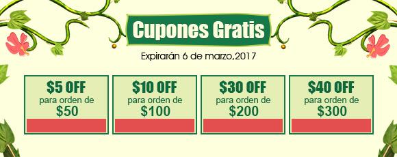 Cupones Gratis Expirarán 6 de marzo,2017