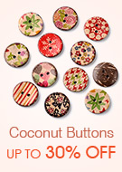 Coconut Buttons Up To 30% OFF