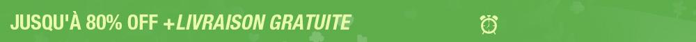 Promotion d'Articles Chaudes  Jusqu'à 80% OFF Se termine à minuit le 24 avril 2017  PST