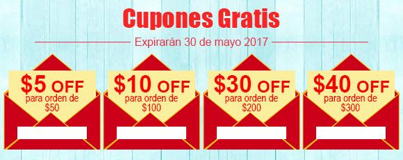 Cupones Gratis Expirarán 30 de mayo 2017