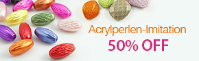 Acrylperlen-Imitation 50% OFF